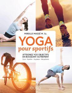 Livre YOGA pour sportifs de Mireille Massé